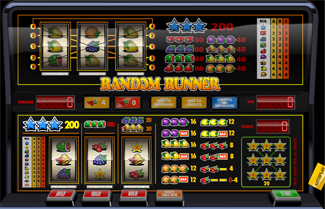 Random Runner FK fruitmachine