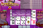 4-line aces and faces videopoker